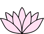 Lotus blossom symbol.